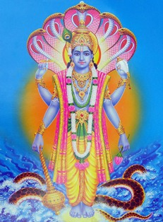 Lord Vishnu state of bliss beyond cycle of birth and death