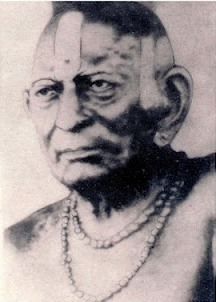 Third Original photo of Akkalkot Swami Samarth taken by Kodak Company photographer