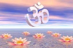Eternal bliss aum Hinduism Yoga
